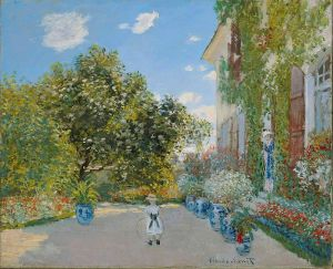 The Artists House at Argenteuil- Claude Monet