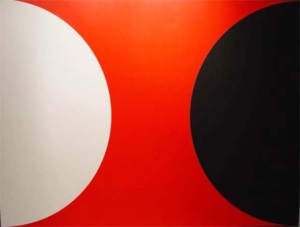 Omega IX 1961 Acrylic on Canvas