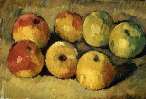 Apples 1878- Paul Cezanne