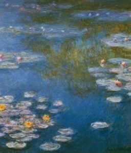 Waterlilies Giverny- Claude Monet