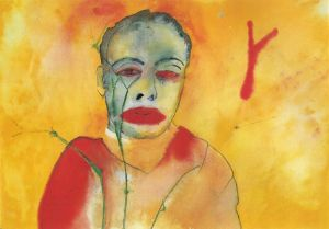 Fire- Francesco Clemente