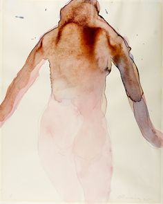 """Standing Figure"", 1965- Nathan Oliveira"