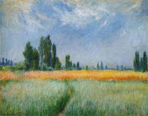 Field of Corn- Claude Monet