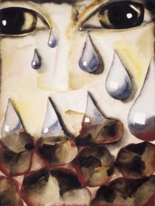 Silver and Stone- Francesco Clemente
