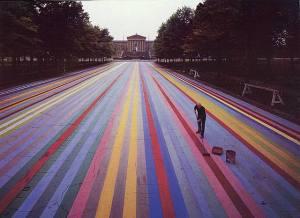 Frankin's Footpath 1972- Gene Davis