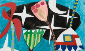 Shalimar 5, (2011), by Gillian Ayres (detail)
