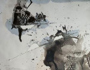 Hole Esquisse 1958- Shozo Shimamoto