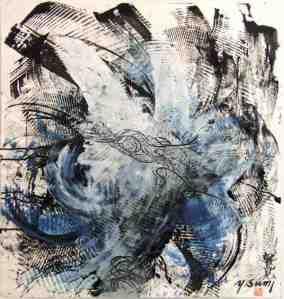 Yasuo Sumi - Carta - Sumi 16 - 2005 - cm. 67x61.