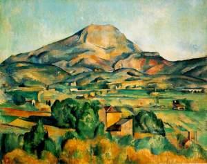 Mont Sainte Victoire- Paul Cezanne