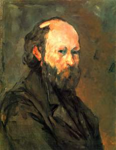 Self-Portrait- Paul Cezanne