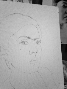 Starting to sketch...
