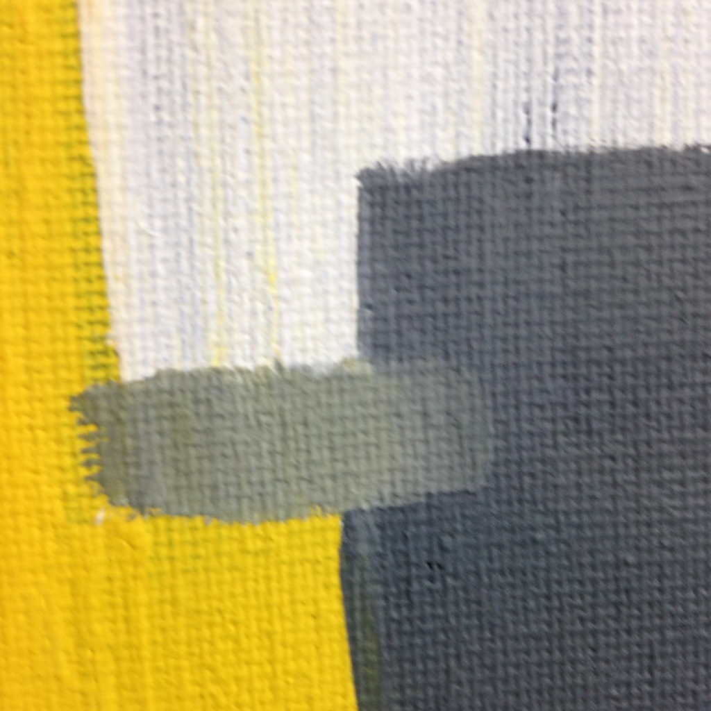 Close-Up 1 Untitled 235- Tribute to Giorgio Cavallon Linda Cleary 2014 Acrylic on Canvas