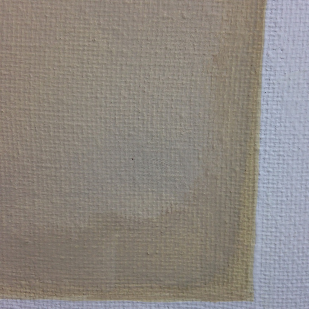Close-Up 2 Vert Brun- Tribute to Anne Appleby Linda Cleary 2014 Acrylic on Canvas
