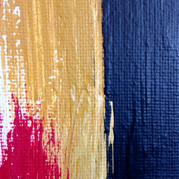Close-Up 3 Untitled #227- Tribute to Edward Dugmore Linda Cleary 2014 Acrylic on Canvas