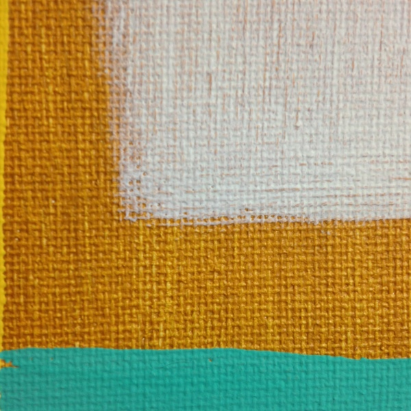 Close-Up 3 Untitled 235- Tribute to Giorgio Cavallon Linda Cleary 2014 Acrylic on Canvas