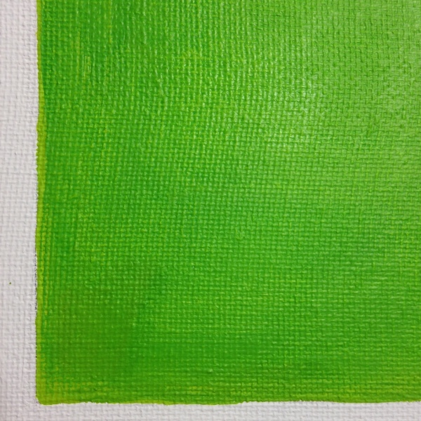 Close-Up 3 Vert Brun- Tribute to Anne Appleby Linda Cleary 2014 Acrylic on Canvas