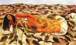 Roots- Frida Kahlo