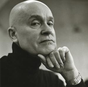 Portrait of Gene Davis, Washington DC  Copyright 1978, Rosalind Solomon