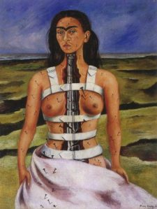The Broken Column- Frida Kahlo