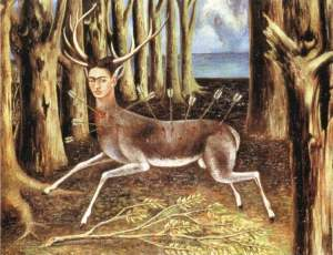 The Wounded Deer- Frida Kahlo