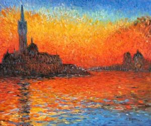 Venice Twilight- Claude Monet