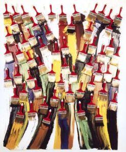 Brosses et Peinture, 1987- Arman