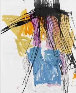 Georg Baselitz, 1. Mai, 2010. © Georg Baselitz