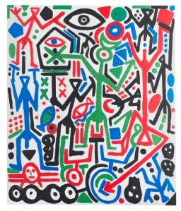 A. R. Penck (d.i. Ralf Winkler) - Ohne Titel
