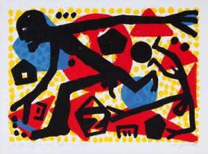 A.R. Penck- Nittardi Label