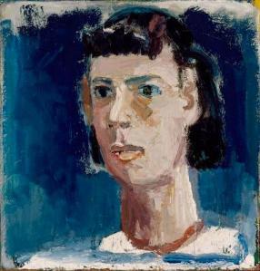 David Park: Head of Lydia, 1953