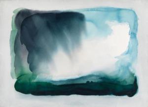 William Tillyer The North York Moors, Falling Sky, 1985