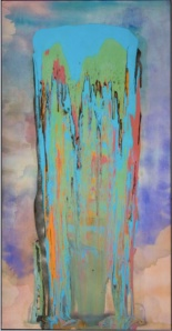 Frank Bowling 'Julia' (1975) courtesy of Tate website.