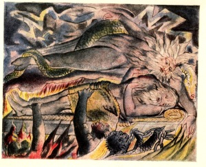 From the Book of Job- William Blake