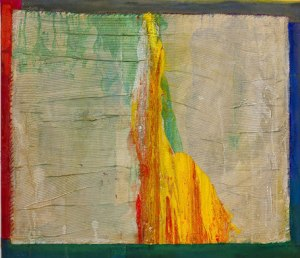 Frank Bowling- Crossing Liberty 1 (courtesy of the artist and ROLLO Contemporary Art)