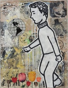 Flowers and Boys- Donald Baechler