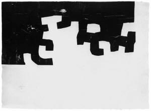 Gili III Xylography- Eduardo Chillida