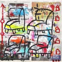 Four Chairs- Gary John
