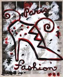 Paris Shoe- Gary John