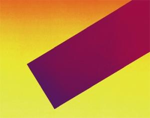 Rupprecht Geiger, Dynamik der Farbe, 2006, 13 color serigraph