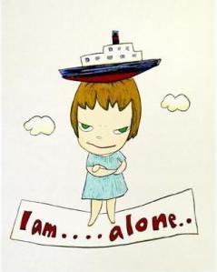 I Am Alone- Yoshitomo Nara