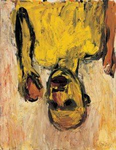 Orangenesser- Georg Baselitz
