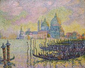 Grand Canal Venise- Paul Signac