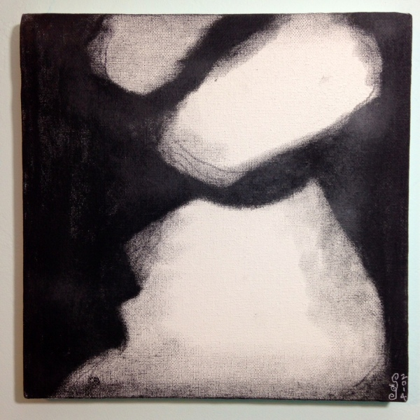 The Way Out- Tribute to Douglas A. Kinsey Linda Cleary 2014 Charcoal on Canvas
