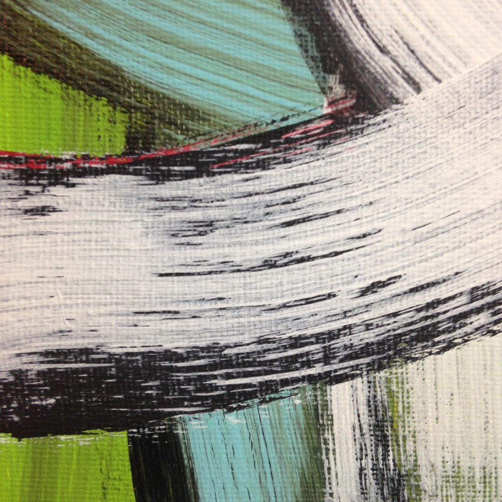Close-Up 1 #257- Tribute to Hertha Hanson Linda Cleary 2014 Acrylic on Canvas