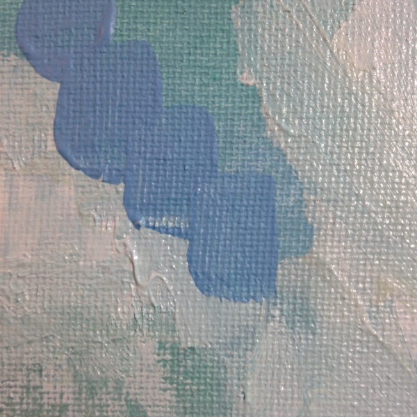 Close-Up 2 Lonely Tree- Tribute to Pamela Munger Linda Cleary 2014 Acrylic on Canvas