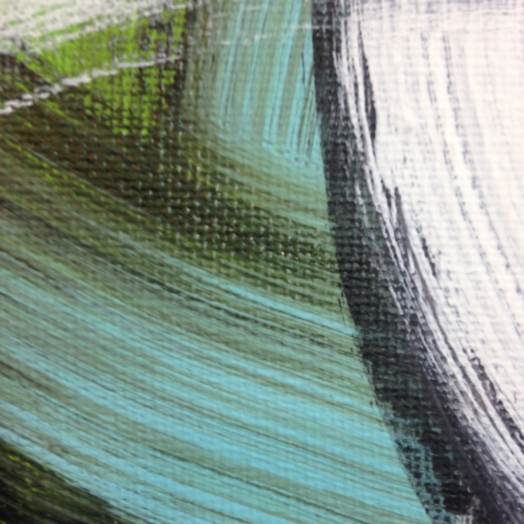Close-Up 3 #257- Tribute to Hertha Hanson Linda Cleary 2014 Acrylic on Canvas