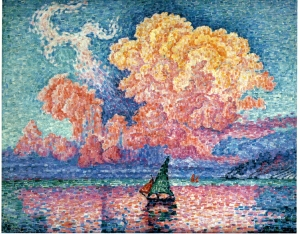 Paul Signac (1863-1935). The Pink Cloud Antibes