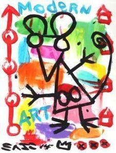 Modern Art- Gary John