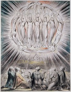 The Angels Appearing to the Shepherds- William Blake