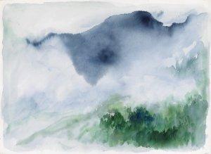 William Tillyer Haute Alps, 1983